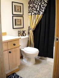 Black And Yellow Bathroom Best White And Yellow Bathroom With Large Rug Interior White And
