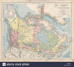 Canada Map Coloured by Canada Canadian Pacific Railway Arctic Explorers U0027 Routes Letts