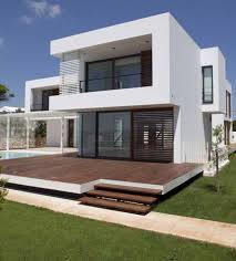 awesome white green wood glass luxury design minimalist house