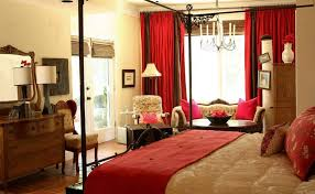 Curtains For Master Bedroom How To Decorate A Bedroom With Red Walls