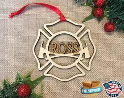fireman ornaments etsy