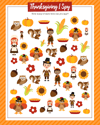 free printable thanksgiving games for adults thanksgiving i spy print lil u0027 luna