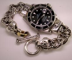 custom silver jewelry custom bill wall rolex submariner the ultimate harley davidson