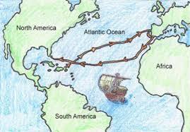 Map Of Columbus Voyage Early Explorers By Ashlynn T