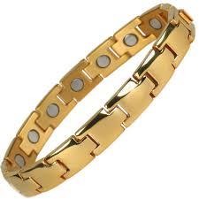 magnetic bracelet gold plated images Bio magnetic bracelet bio magnetic bracelets importer from new delhi jpg