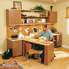How To Build A Office Desk by How To Build A Home Office Family Handyman