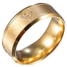 Superman Wedding Ring by Superman Wedding Band Ebay