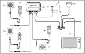 ray260 modular vhf radio raymarine