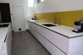 white kitchen yellow splashback google search dublin