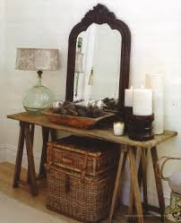 love the display here great use of rustic victorian and bohemian