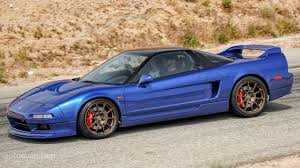 Acura Nsx Black Clarion Builds Resurrects And Improves A 1991 Acura Nsx