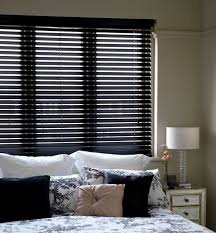 ready made window blinds cheapest blinds uk ltd ready made black wood venetians with cords