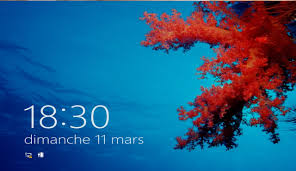 horloge sur bureau windows désactiver l écran de verrouillage de windows 8 niko pik