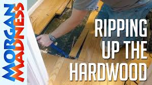 how to tile a bathroom floor step 1 remove old flooring morgan