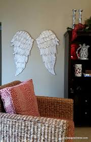 Angel Wing Wall Decor Angel Wings Textured Wood Wall Art Carved Wood Look Angel Wing