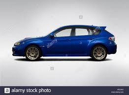 sti subaru 2008 2008 subaru impreza wrx sti in blue drivers side profile stock