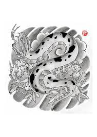 japanese snake by laranj4 on deviantart