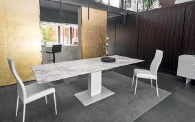 echo modern extendable dining table