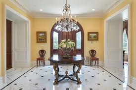 Woodbridge Home Designs Furniture Contemporary Entryway With Simple Marble Tile Floors U0026 Specialty