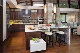 Kitchen Stone Backsplash by Impressive Kitchen Stone Backsplash Ideas For White And Brown