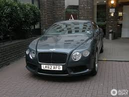 grey bentley bentley continental gt v8 4 november 2012 autogespot
