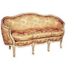 canape louis xv sofa ottoman 3p louis xv style louis xv ateliers allot