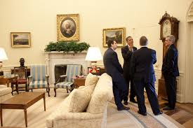 oval office paintings obamas oval office