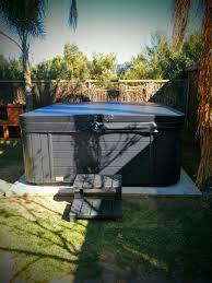 how to install outdoor spa tub or jacuzzi not sealed