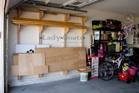 How To Organize Garage - lady goats operation organize garage what wood you do