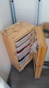 Ikea Storage Boxes Wooden Mobile Trofast For Art Supply Storage Ikea Hackers Ikea Hacks