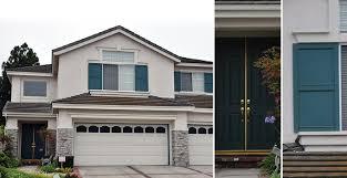 Exterior Door Color Combinations City Of Cerritos Residential Color Palette