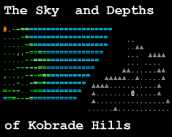 Challenge Rate Rate The Sky And Depths Of Kobrade By Jan Rl For 7drl