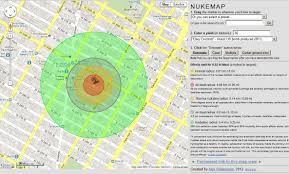 Google Maps Montana High Power Rocketry Nukemap A Simulation Showing Nuclear