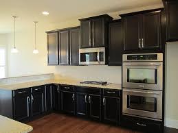 painting kitchen cabinets espresso brown interior design