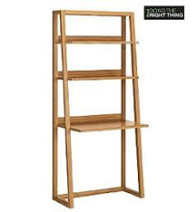Tall Writing Desk by Hokku Designs Stanton Ladder Style Writing Desk With Shelves