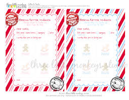 official letters from santa free letters to santa the preschool version three