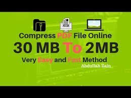 compress pdf below 2mb how to compress pdf file size 30mb to 2mb youtube