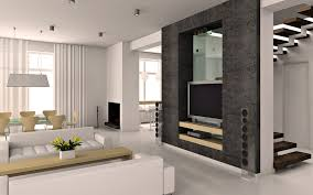 Interior Design Fancy Modern Living Room Design With Fancy White - Design modern living room