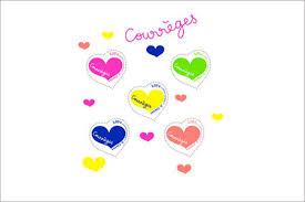 la poste timbre mariage les timbres cœur signés courrèges la poste