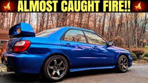 bugeye subaru interior cheap subaru wrx bugeye project car how broken is it youtube