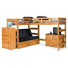 Loft Bed With Futon Chelsea Home Furniture 3662001 L Shaped Futon Loft Bed