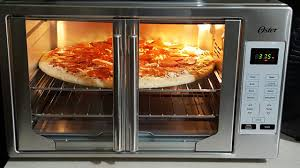 Oster Extra Large Toaster Oven First Look Oster Xl French Door Convection Oven Pizza Youtube
