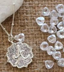 personalized jewerly initial necklace personalized jewelry april birthstone jewelry