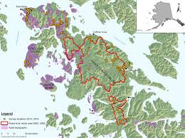 Southeast Alaska Map by Prince Of Wales Island Amphibian Surveys Alaska Center For