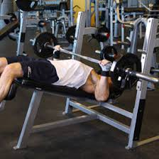 Bench Press No Spotter Wide Grip Decline Barbell Bench Press Exercise Videos U0026 Guides