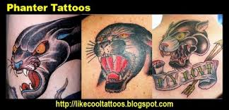 symbolic meaning of panther tattoos like cool tattoos