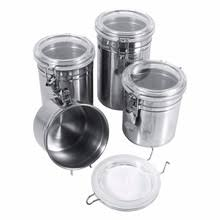 stainless steel kitchen canister popular stainless steel canister buy cheap stainless steel
