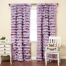 Ruffle Blackout Curtains Ruffle Curtain Home Sweet Home