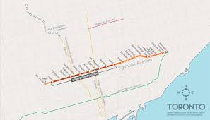 Toronto Subway Map Lanes Lrt U0026 Ttc Subway Extensions Are Underway