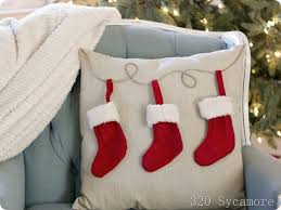 Christmas Pillows Pottery Barn Easy 6 Christmas Stocking Pillow 320 Sycamore